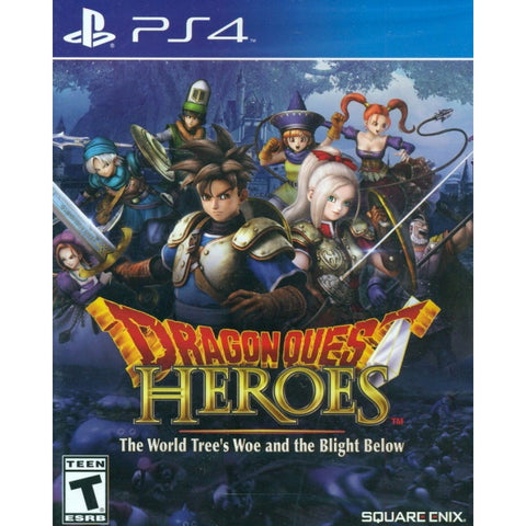 Dragon Quest Heroes The World Trees Woe and The Blight Below [PlayStation 4]