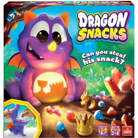 Dragon Snacks [Board Game, 2-4 Players]