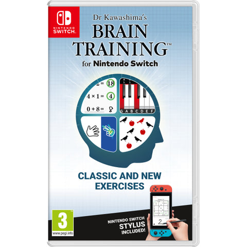 Dr Kawashima's Brain Training for Nintendo Switch [Nintendo Switch]