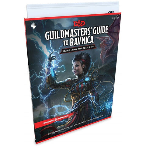 Dungeons & Dragons: Guildmaster's Guide to Ravnica - Maps and Miscellany [RPG Style Game Accessory]