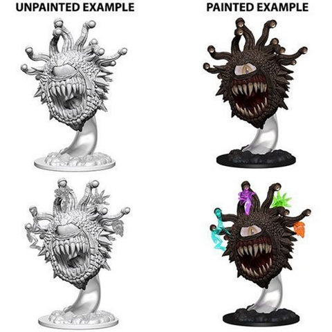 WizKids Dungeons & Dragons: Nolzur's Marvelous Unpainted Miniatures - Beholder [Board Game Accessory]
