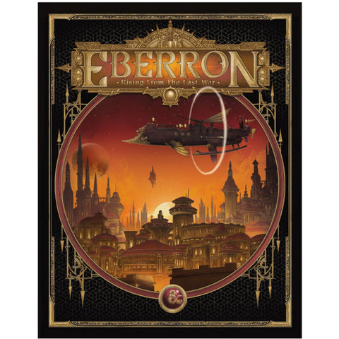 Dungeons & Dragons RPG: Eberron - Rising from The Last War w/ Alternate Cover [Hardcover Book]