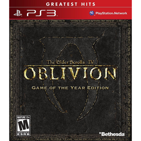 The Elder Scrolls IV: Oblivion - Game of the Year Edition [PlayStation 3]