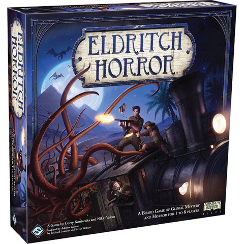 Eldritch Horror [Board Game, 1-8 Players]