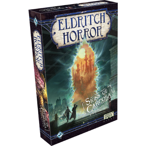 Eldritch Horror: Signs Of Carcosa Expansion [Board Game, 1-8 Players]