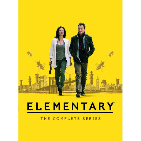 Elementary: The Complete Series - Seasons 1-7 [DVD Box Set]