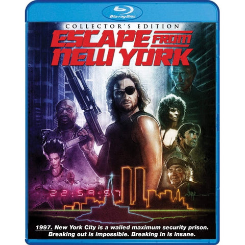 Escape from New York: Collector's Edition [Blu-ray]