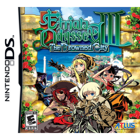 Etrian Odyssey III: The Drowned City [Nintendo DS DSi]