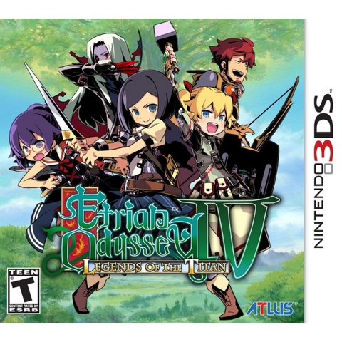 Etrian Odyssey IV: Legends Of The Titan [Nintendo 3DS]