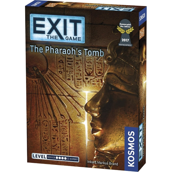 Exit: The Game – The Pharaoh's Tomb [Board Game, 1-4 Players]