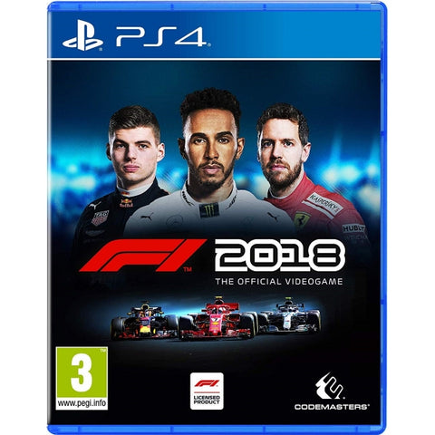 F1 2018: The Official Video Game [PlayStation 4]