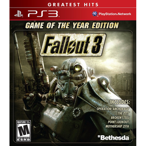 Fallout: 3 - Game Of The Year Edition [PlayStation 3]