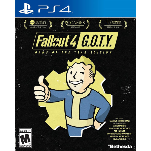 Fallout 4 - Game of the Year Edition [PlayStation 4]