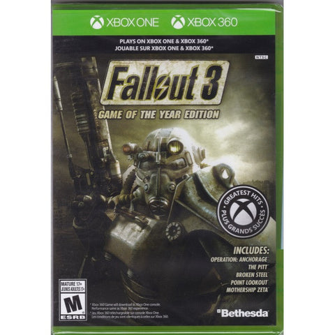 Fallout 3: Game of the Year Edition [Xbox 360]