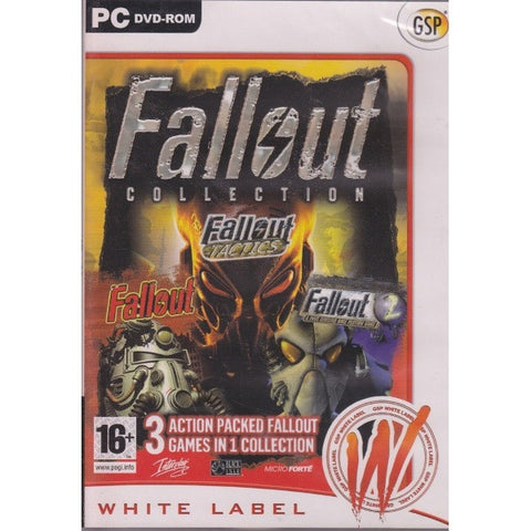 Fallout Collection - Part 1 + Part 2 + Fallout Tactics [PC]