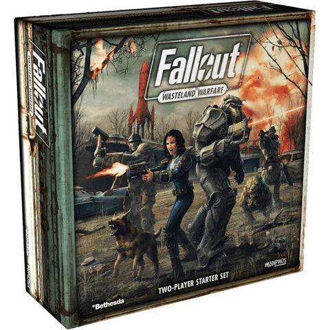 Fallout: Wasteland Warfare [Board Game, 1-8 Players]