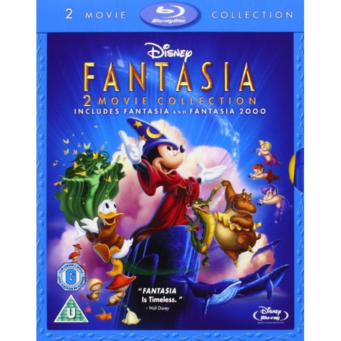 Disney's Fantasia & Fantasia 2000 [Blu-Ray 2-Movie Collection]