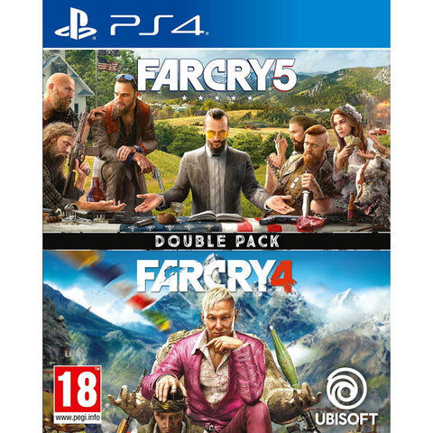 Far Cry 4 + Far Cry 5 Double Pack [PlayStation 4]