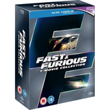 Fast & Furious: 7-Movie Collection [Blu-Ray Box Set]
