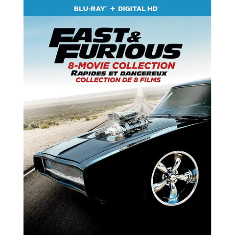 Fast & Furious: 8 Movie Collection [Blu-Ray Box Set]