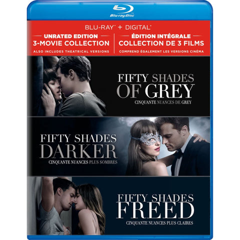 Fifty Shades: 3-Movie Collection [Blu-Ray + Digital Box Set]
