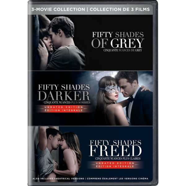 Fifty Shades: 3-Movie Collection [DVD Box Set]