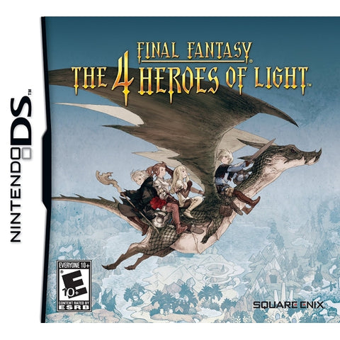 Final Fantasy: The 4 Heroes of Light [Nintendo DS DSi]