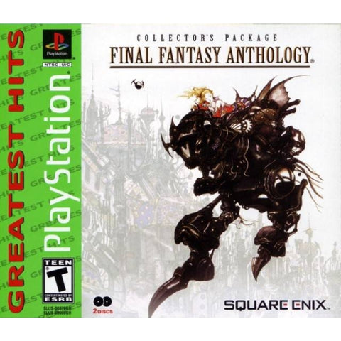 Final Fantasy Anthology [PlayStation 1]