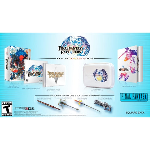 Final Fantasy Explorers - Collector's Edition [Nintendo 3DS]