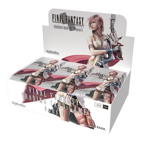 Final Fantasy TCG: Opus I Collection Factory Sealed Booster Box - 36 Packs [Card Game, Ages 13+]