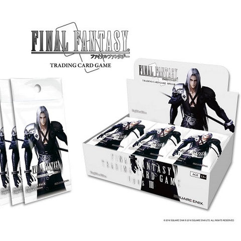Final Fantasy TCG: Opus III Collection Factory Sealed Booster Box - 36 Packs [Card Game, Ages 13+]