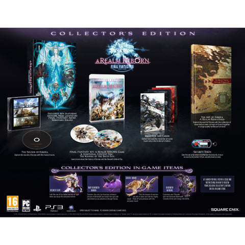 Final Fantasy XIV Online: A Realm Reborn - Collector's Edition [PlayStation 3]