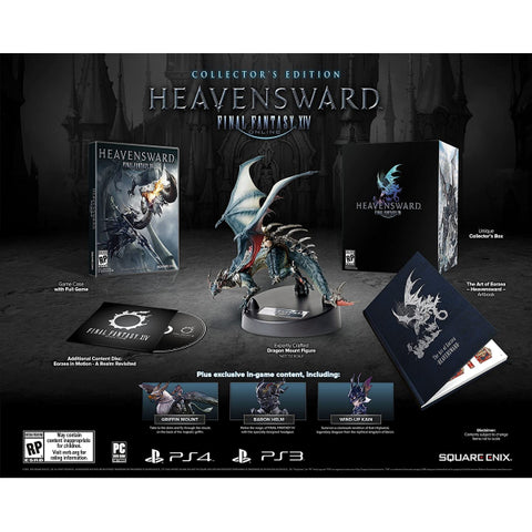Final Fantasy XIV: Heavensward - Collector's Edition [PlayStation 3]