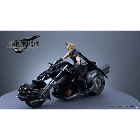 Final Fantasy VII Remake - Play Arts Cloud Strife & Hardy Daytona Action Figures [Collectible]