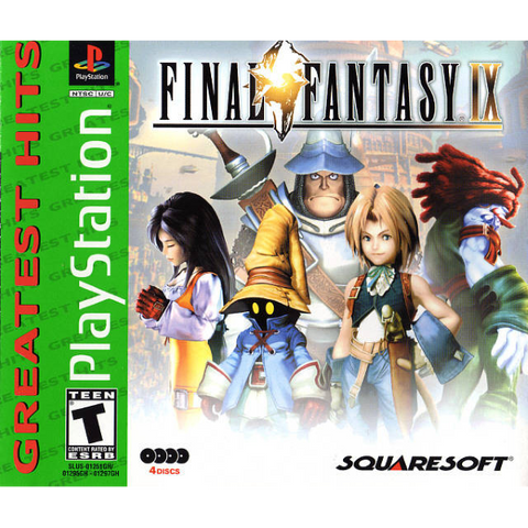 Final Fantasy IX [PlayStation 1]
