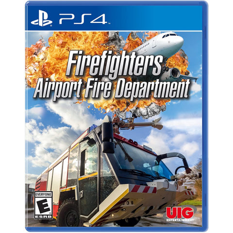 Firefighters: Airport Fire Department [PlayStation 4]