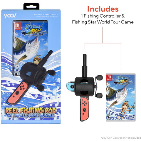 Fishing Star: World Tour w/ YOOL Reel Fishing Rod [Nintendo Switch]
