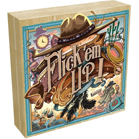Flick 'em Up! [Board Game, 2-10 Players]