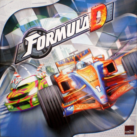 Formula D [Board Game, 2-10 Players]