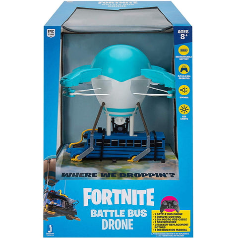 Fortnite Battle Bus Drone [Toys, Ages 8+]
