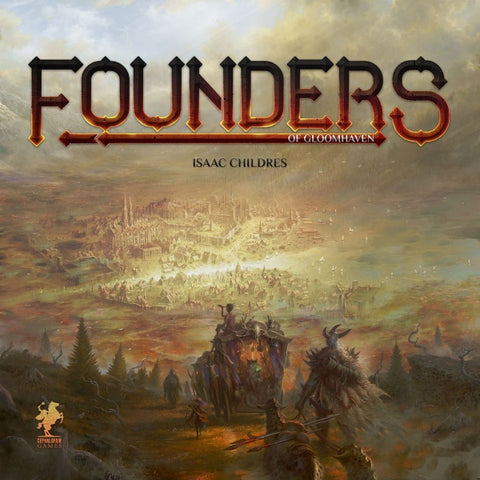 Founders of Gloomhaven [Board Game, 1-4 Players]