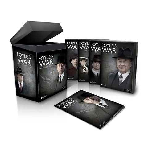 Foyle's War - The Complete Saga - Seasons 1-8 [DVD Box Set]
