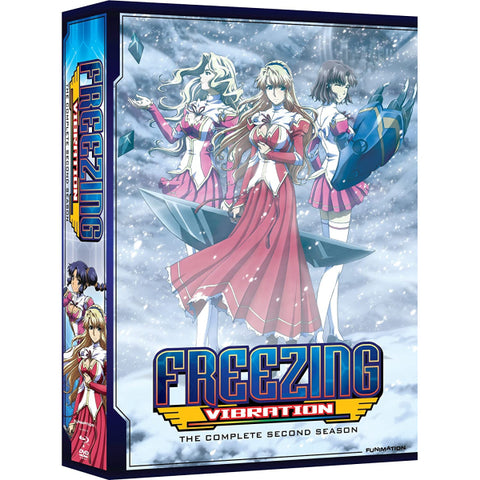 Freezing Vibration: The Complete Second Season - Limited Edition [Blu-Ray + DVD Box Set]