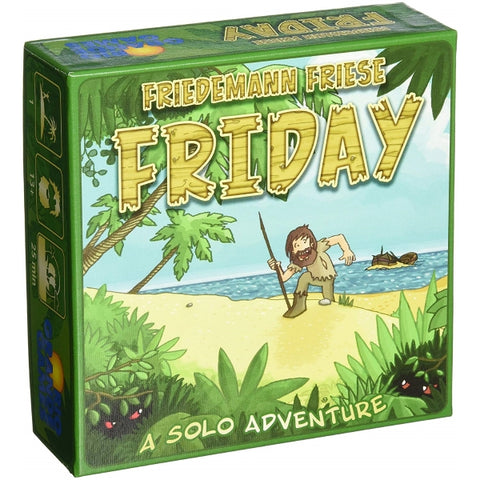 Friday - A Solo Adventure [Card Game, 1 Player]