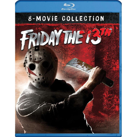 Friday the 13th: 8-Movie Ultimate Collection [Blu-Ray Box Set]