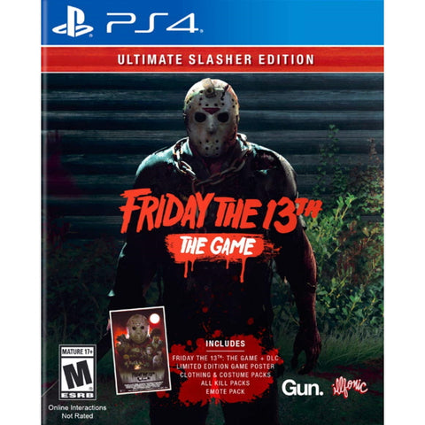 Friday the 13th: The Game - Ultimate Slasher Edition [PlayStation 4]