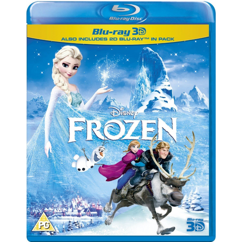 Disney's Frozen [3D + 2D Blu-Ray]