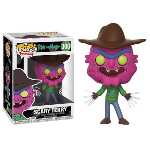 Funko POP! Animation - Rick and Morty: Scary Terry Vinyl Figure [Toys, Ages 17+, #300]