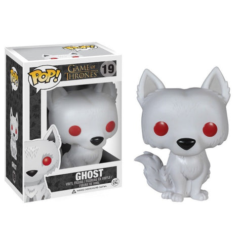 Funko POP! - Game of Thrones: Ghost Vinyl Figure [Toys, Ages 17+, #19]