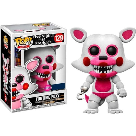 Funko POP! Games - Five Nights at Freddy's: Funtime Foxy Flocked Vinyl Figure [Toys, Ages 3+, #129]